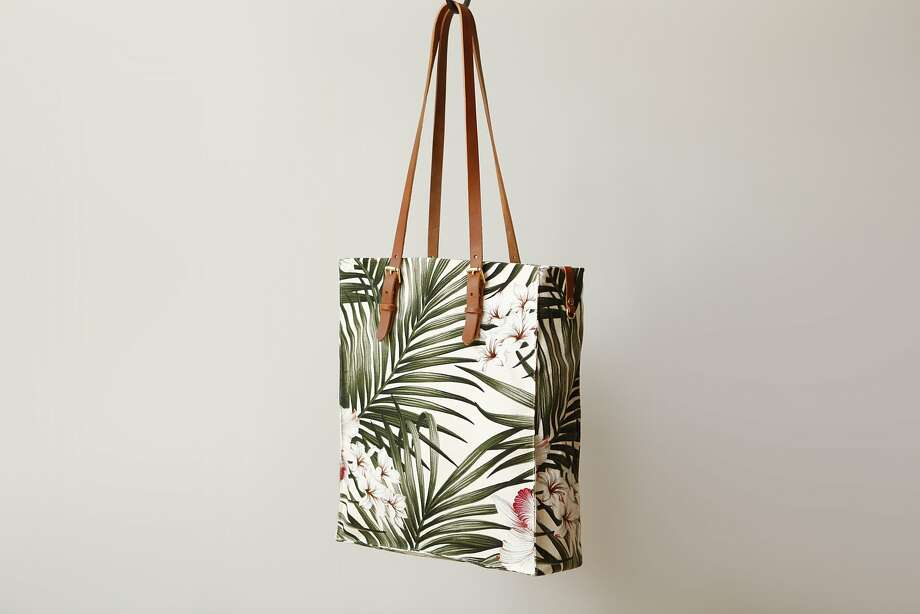 Presidio Palms Tote, $175, from Future Glory. Photo: Future Glory