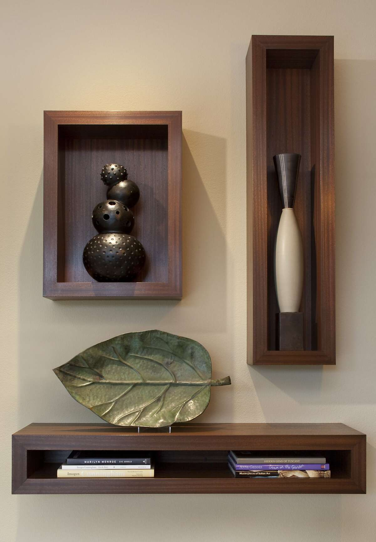 A mainstay in Tiburon, interior designer Ruth Livingston's storefront offers a variety of special finds, from jewelry and handmade purses to silk screen scarves and sculpture and ceramics - as well as locally manufactured furniture designed by Livingston herself.