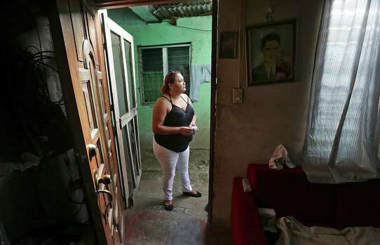 Recently, Mexico deported Fany Galeano, 30,  calls for her 12 year-old daughter Keyla, who together arrived back in her home town of San Pedro Sula, Honduras last night, having been apprehended in Veracruz, MX.  She is already planning an attempt to go to Houston, TX, where family members live. Thursday, June 26, 2014. Photo: Bob Owen, San Antonio Express-News / ©2013 San Antonio Express-News
