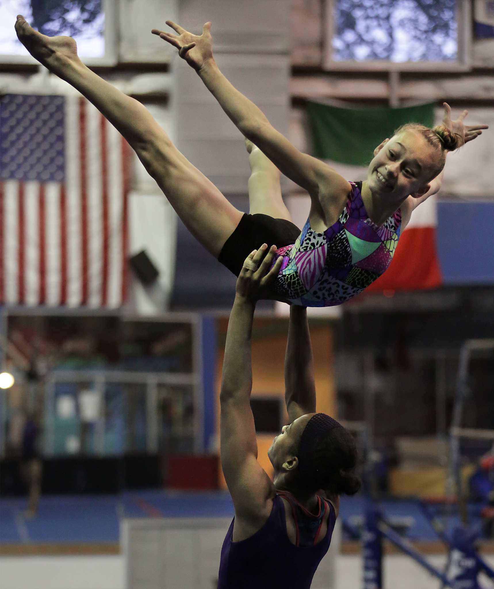 Local Acrobatic Gymnasts To Compete In Paris San Antonio