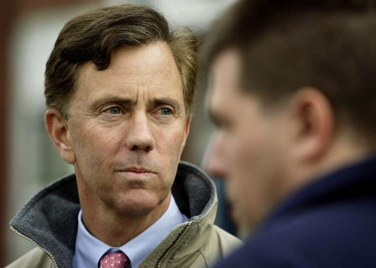 NEW BRITAIN, CT - NOVEMBER 7: Democratic candidate for Senate Ned Lamont campaigns outside the Vance School November 7, 2006 in New Britain, Connecticut. Lamont is in a tight race against incumbent Sen. Joe Lieberman (D-CT) for the Senate seat. (Photo by Bob Falcetti/Getty Images)