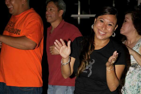 Locals got down to the sounds of Grupo Oro Friday night at VFW Post 76.