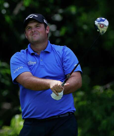 Spring's Patrick Reed salvaged an even-par 71 on Saturday to take a two-shot lead into the final round of the Quicken Loans National in Bethesda, Md. Photo: Patrick McDermott, Stringer / 2014 Getty Images