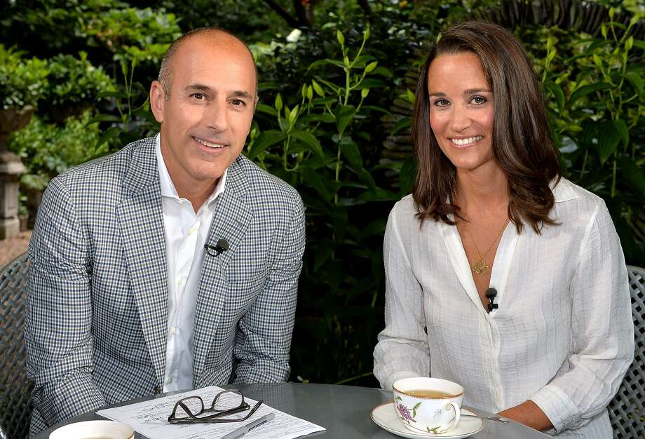 """Today"" co-host Matt Lauer says Pippa Middleton was down to earth during their London interview. Photo: Anthony Harvey, Associated Press"