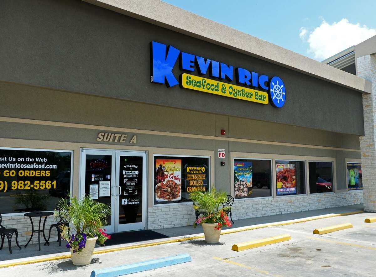 Pictured is the facade of Kevin Rico Seafood and Oyster Bar in Port Arthur. The establishment is the Cat5 Restaurant of the Week for June 26, 2014. Photo taken Tuesday 6/17/14 Jake Daniels/@JakeD_in_SETX