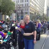 """""""We still do Dykes On Bikes to show our pride for the city of San Francisco."""" - Cindy Solomon"""