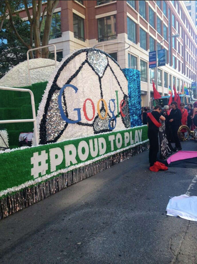 Google is here. Photo: The Chronicle