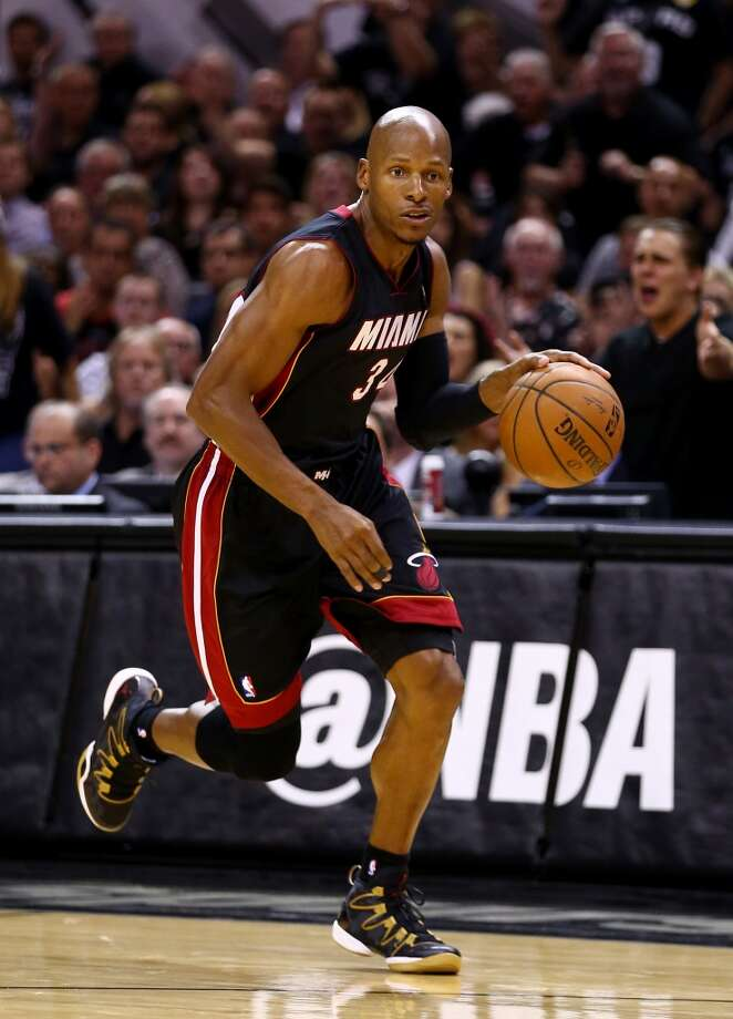 24. Ray Allen, G, Miami HeatAllen has yet to say that he will be back for another season, but if he returns, it would likely be only to play for the Heat. Photo: Andy Lyons, Getty Images