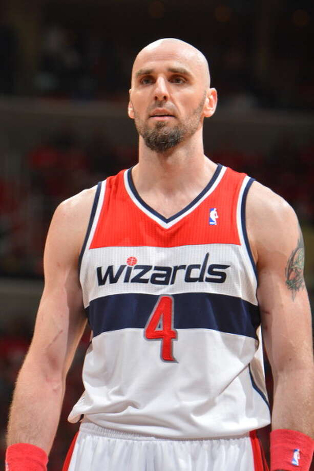 13. Marcin Gortat, C, Washington Wizards Much of the Wizards' surprising and long-awaited success came from Gortat fitting in so well at center. His athleticism and attitude would work with any team with a need at center, but Washington is extremely unlikely to let him go. Photo: Jesse D. Garrabrant, NBAE/Getty Images / 2014 NBAE