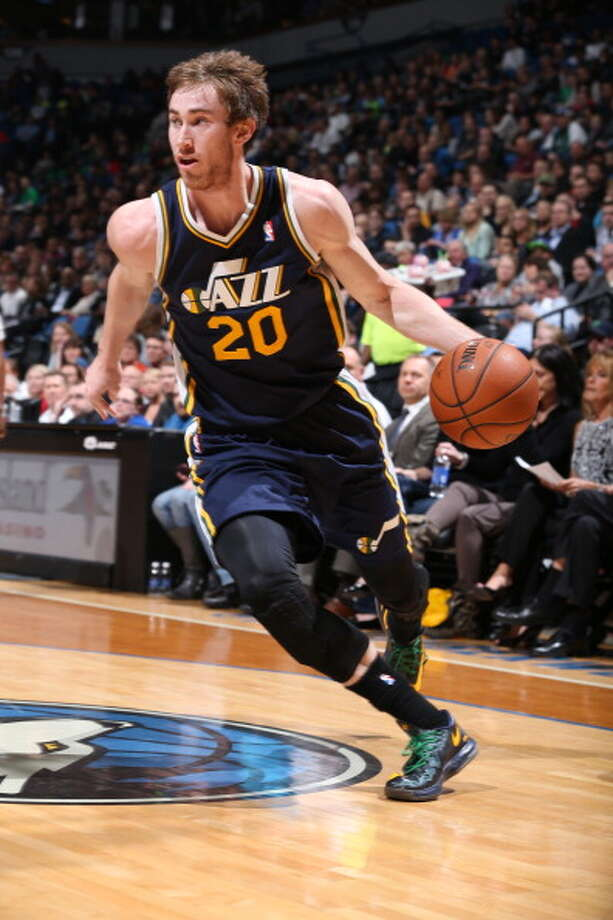 12. Gordon Hayward, F, Utah Jazz Hayward still has not produced the way his skills would seem to allow, but some of that could be from being a top scorer on a generally awful offensive team. The Jazz have seem determined to match any offer the restricted free agent receives. Photo: David Sherman, NBAE/Getty Images / 2014 NBAE