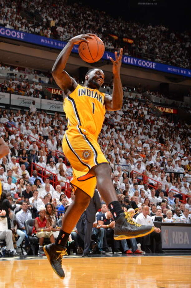 11. Lance Stephenson, G/F, Indiana PacersThe versatile Stephenson is a constant threat to put up a triple-double or mess up spectacularly. Someone could gamble a large contract on his talent, but the Pacers seems committed to making it work. Photo: Jesse D. Garrabrant, NBAE/Getty Images / 2014 NBAE