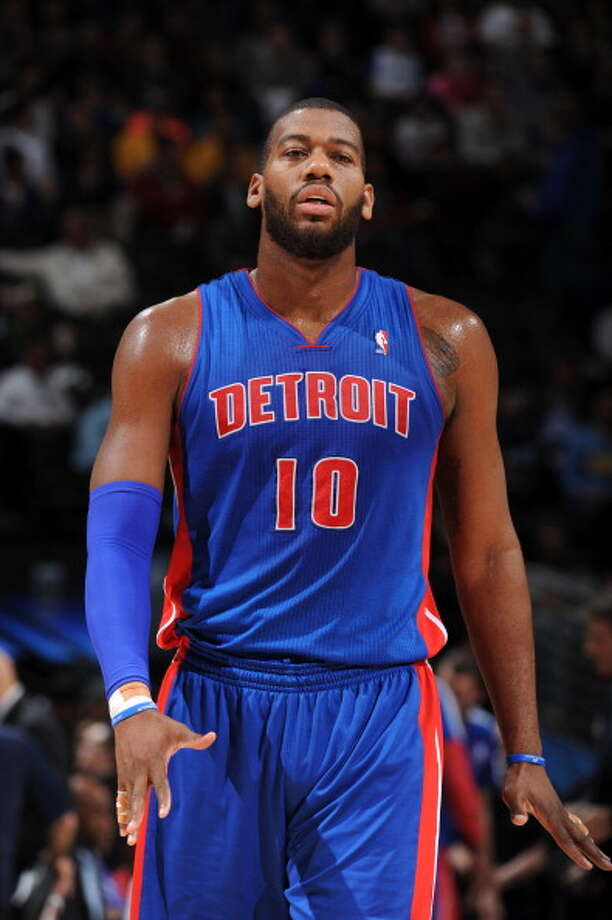 10. Greg Monroe, F/C, Detroit Pistons An underrated offensive talent, Monroe was overshadowed by Andre Drummond and might not fit with a large contract because of last season's signing of Josh Smith. The Pistons, however, are not in position to let talent just walk away. Photo: Garrett Ellwood, NBAE/Getty Images / 2014 NBAE