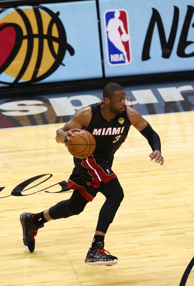 5. Dwyane Wade, G, Miami Heat Wade Finals fade brought up concerns that his troublesome knees could send him on the down side of his career, but he looked strong through the playoffs and similar things were said of Manu Ginobili a year ago. Miami seems determined to have him retire with the Heat. Photo: Chris Covatta, Getty Images
