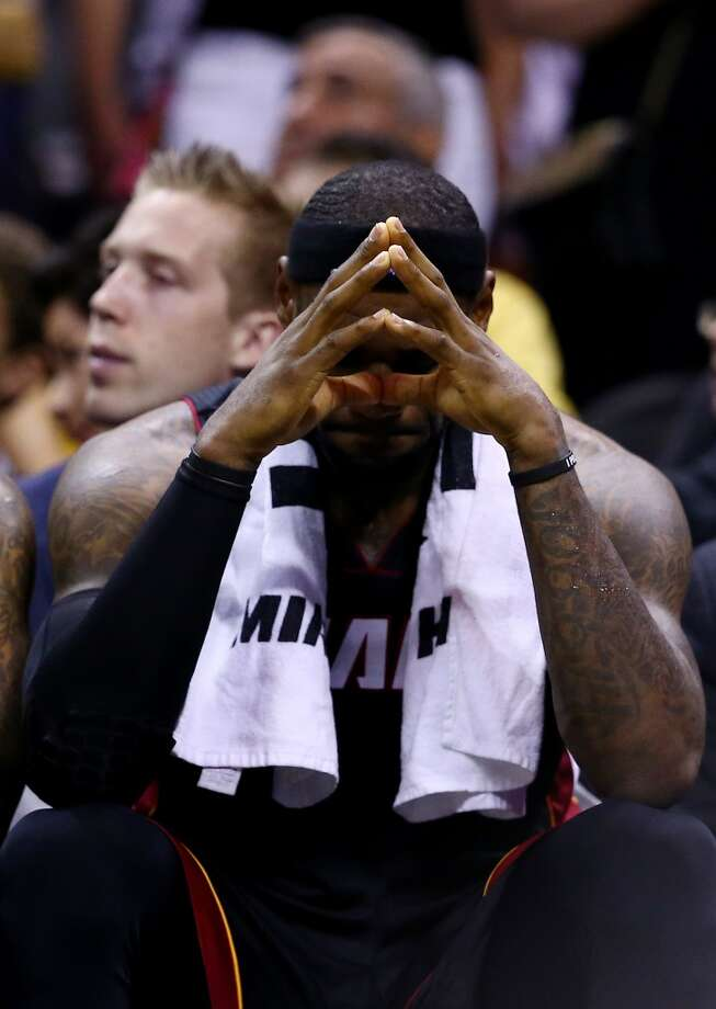 1. LeBron James, F, Miami Heat Opting out of his contract does not mean James will be out of Miami. He will expect the Heat to put together a more complete roster, which will not be easy, and has been known to leave town to join forces with other stars. Photo: Andy Lyons, Getty Images