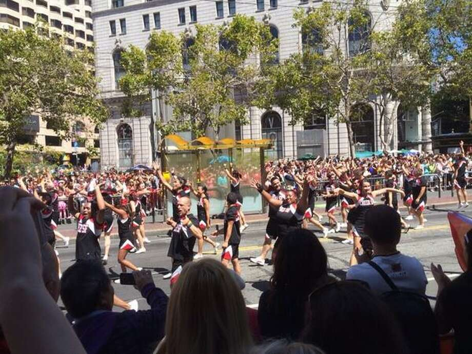It is Cheer San Francisco. And we are. Photo: The Chronicle