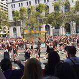 It is Cheer San Francisco. And we are.