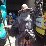 #GandalfTheGay exposes himself for LGBT Seniors.