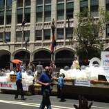 The Orange is the New Black float in the 44th annual Pride parade on Sunday, June 29, 2014.