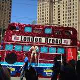 Supervisor London Breed's float in the 44th annual S.F. Pride parade on Sunday, June 29, 2014.