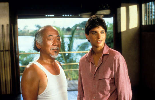 """The Karate Kid, Part II"" – In this high-kicking sequel, karate champ Daniel LaRusso and his mentor, Mr. Miyagi, travel to Okinawa, where Miyagi visits his dying father and rekindles his feelings for a former flame -- which leads to a confrontation with a longtime rival. Available July 1 Photo: Columbia Pictures, Getty Images / 2012 Getty Images"