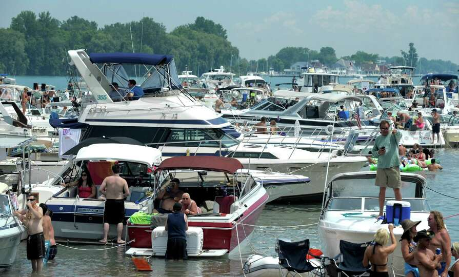 Lake St Clair Summer Island Party