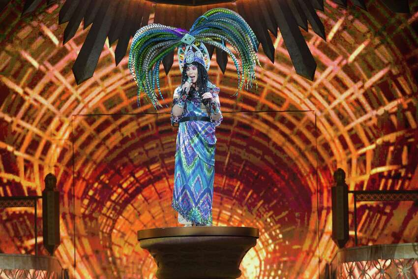 Cher performs on stage at KeyArena on June 28, 2014 in Seattle, Washington.