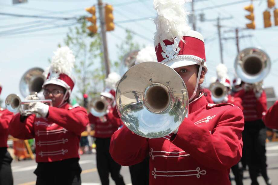 The 66th Annual Barnum Festival Great Street Parade marches down Park Ave. in Bridgeport, Conn. on Sunday, June 29, 2014. Photo: BK Angeletti, B.K. Angeletti / Connecticut Post freelance B.K. Angeletti