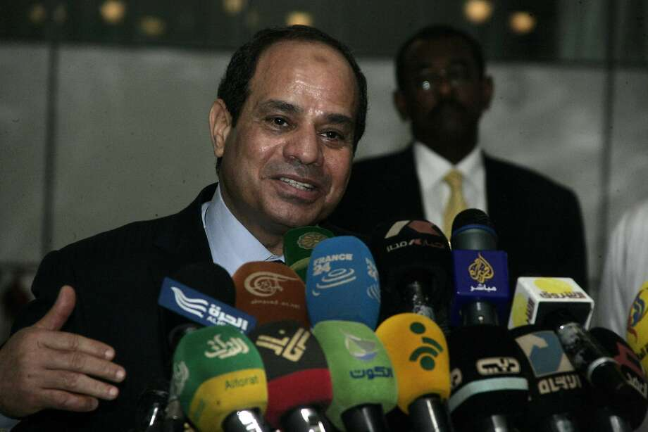 Egyptian President Abdel-Fattah el-Sissi says religious discourse must be restructured. Photo: Ebrahim Hamid, AFP/Getty Images