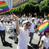 A study published this month in the American Political Science Review ranks U.S. cities with more than 275,000 people by political ideology. San Francisco, shown above during the 44th annual San Francisco Gay Pride parade Sunday, June 29, 2014, was deemed the most liberal U.S. city, the study found.Scroll through the slideshow to see which are the most liberal and most conservative cities in the nation.