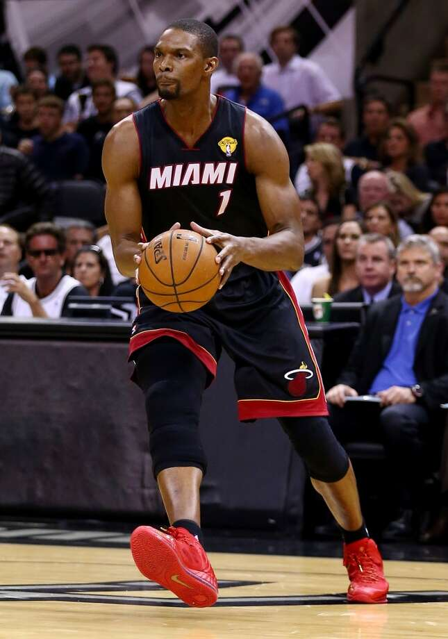 Chris Bosh  Power forward Age: 30 Status: Agreed to five-year $118 million deal with Miami Heat. Photo: Andy Lyons, Getty Images
