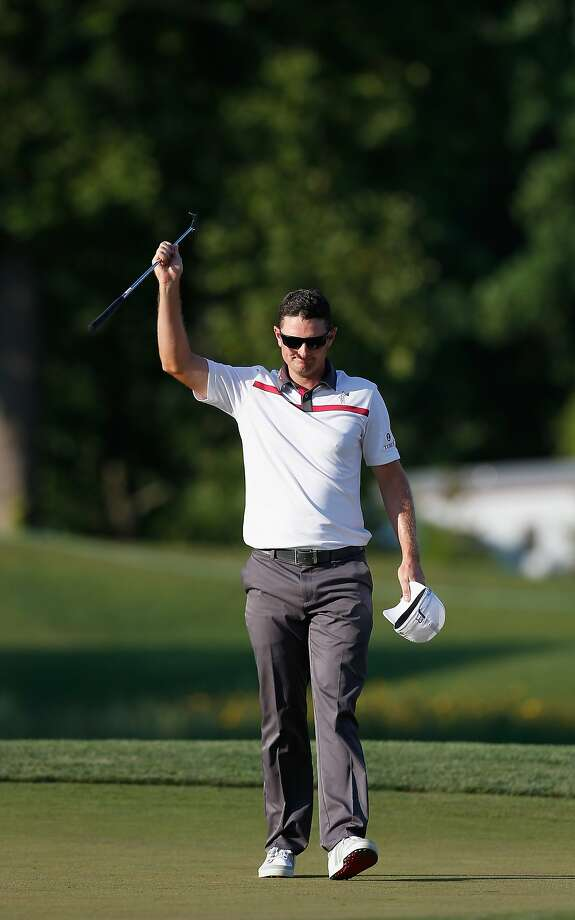 Justin Rose earned his first victory since winning the U.S. Open in 2013. Photo: Patrick McDermott, Getty Images
