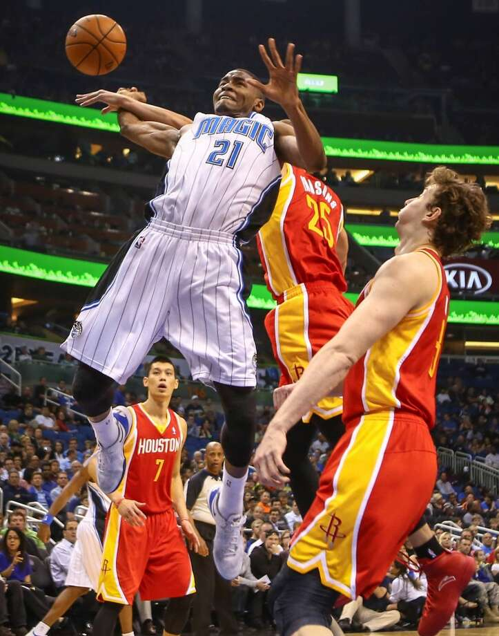 March 5: Rockets 101, Magic 89  Dwight Howard visited his old team and the Rockets overcame a slow start to secure the win over the lowly Magic to cap off a nice 2-0 back-to-back series against Florida teams Miami and Orlando.  Record: 42-19 Photo: Joshua C. Cruey, McClatchy-Tribune News Service