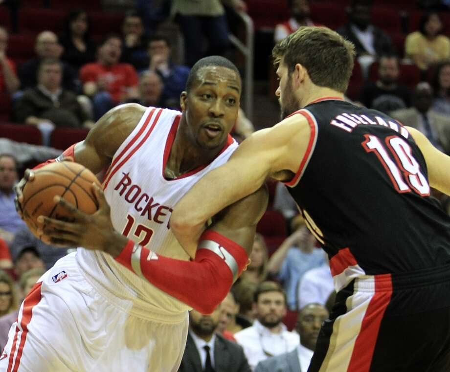 Jan. 20:  Rockets 126, Trail Blazers 113  Chandler Parsons scored 31 points, Dwight Howard had 24 and James Harden added 22 in an encouraging win for Houston.  Record: 28-15 Photo: Karen Warren, Houston Chronicle