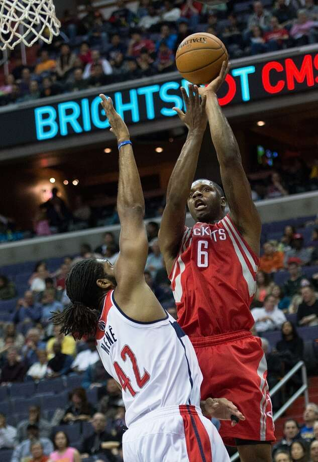 Jan. 11: Rockets 114, Wizards 107  Despite a couple water delays and a giant disappearing lead, the Rockets found a way to pull out the win in Washington.  Record: 24-14 Photo: Harry E. Walker, McClatchy-Tribune News Service