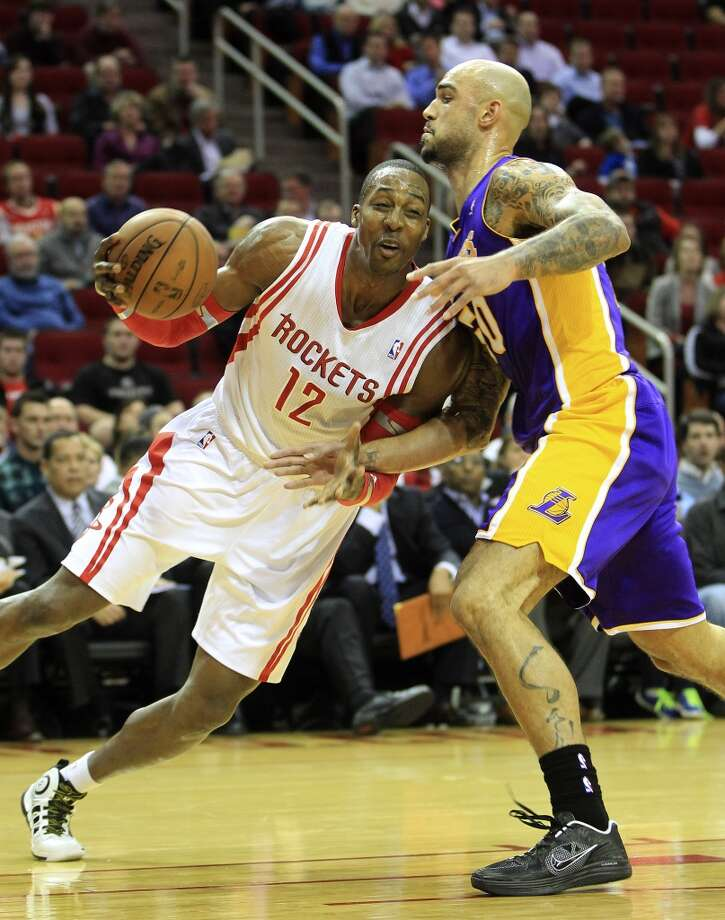 Jan. 8: Rockets 113, Lakers 99  Houston rode a 33-15 third quarter to the win over the Kobe Bryant-less Lakers after Houston had four-days off.  Record: 23-13 Photo: Karen Warren, Houston Chronicle