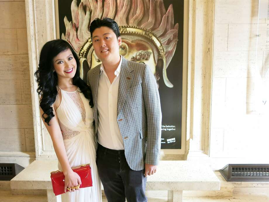 Gorgeous Gala committee member Lisa Fei and Paul Huang at the Asian Art Museum. June 2014. By Catherine Bigelow. Photo: Catherine Bigelow, Special To The Chronicle