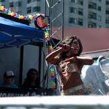 Gypsy Love performs at the Left Magazine stage on Golden Gate Avenue near Van Ness at the 44th annual San Francisco Gay Pride Parade in San Francisco, Calif. on Sunday, June 29, 2014.