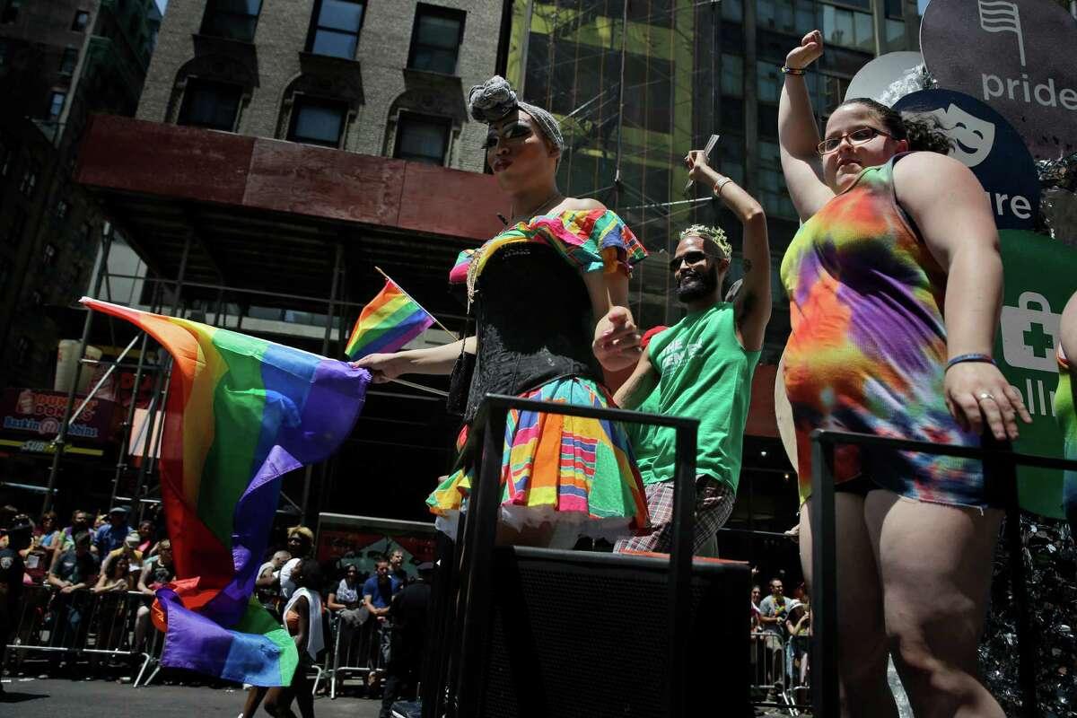 White amp rainbow gay pride beads