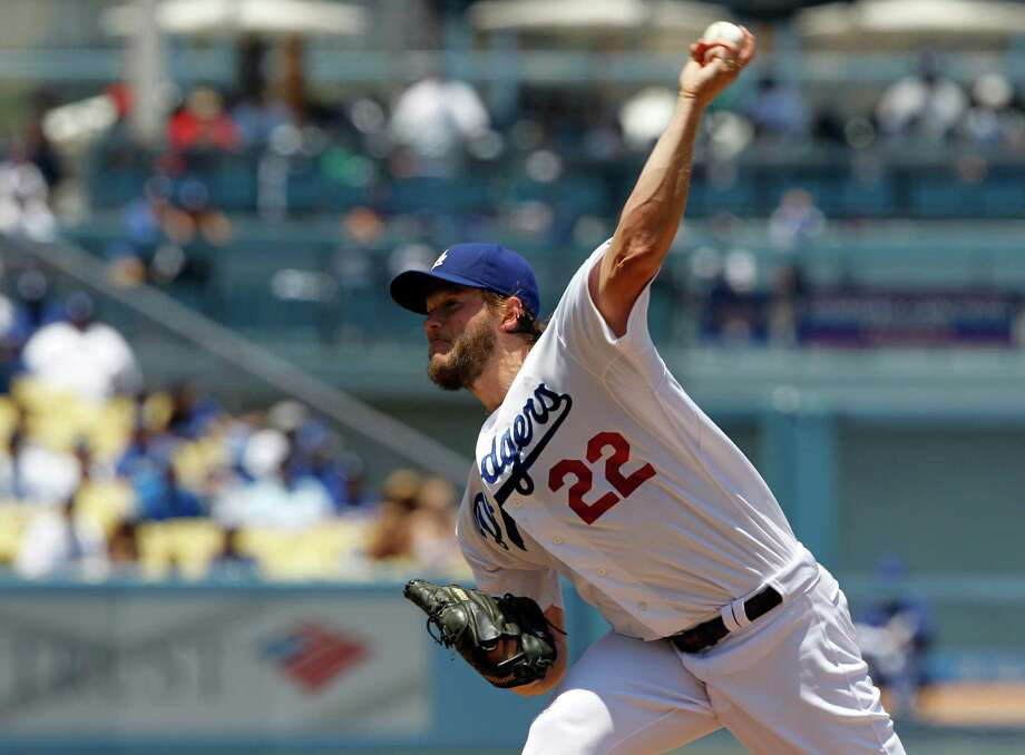 Los Angeles Dodgers starting pitcher Clayton Kershaw throws against the St. Louis Cardinals in the first inning of a baseball game on Sunday, June 29, 2014, in Los Angeles. (AP Photo/Alex Gallardo) ORG XMIT: LAD101 Photo: Alex Gallardo / FR170211 AP