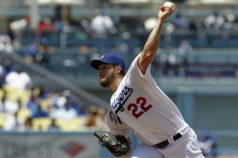 Dodgers ace Clayton Kershaw went 6-0 with an 0.82 ERA in June, striking out 61 in 44 innings. Photo: Alex Gallardo / Associated Press / FR170211 AP