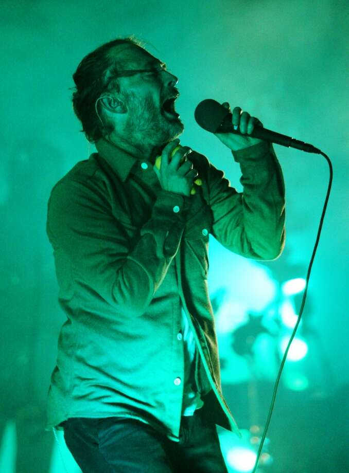 We've got lots of music venues to draw the hottest indie bands, and great music festivals like Outside Lands, Treasure Island Music Festival, and Hardly Strictly Bluegrass. (Shown is Thom Yorke at Treasure Island in 2013). Photo: Raphael Kluzniok, The Chronicle
