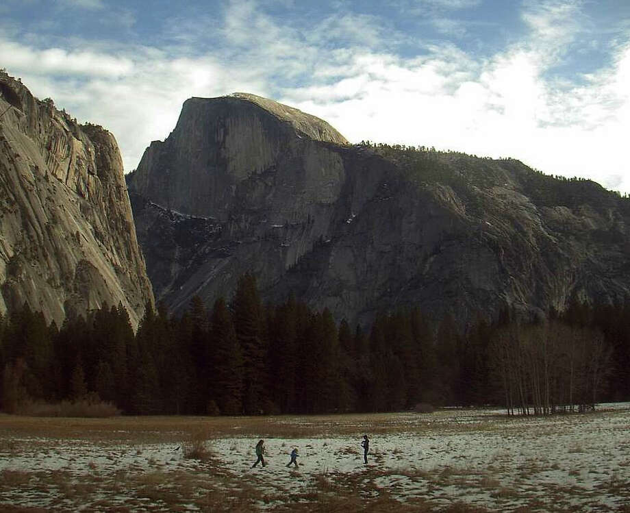 ...and neither are National Parks. Photo: Webcam Yosemite Conservancy / ONLINE_YES