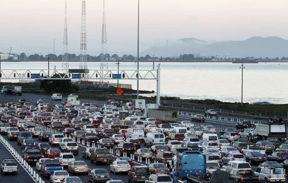 If you live and work in the city, you can avoid the freeways and seriously cut down your commute. Photo: Michael Macor, San Francisco Chronicle