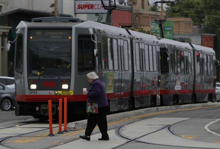 Say what you will about Muni, but with so many transportation options to choose from, you can get away with not having a car. Photo: Paul Chinn, The Chronicle
