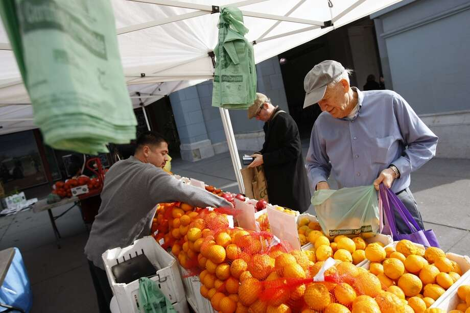 Farmer's markets bursting with incredible produce all year long. Photo: Michael Short, The Chronicle