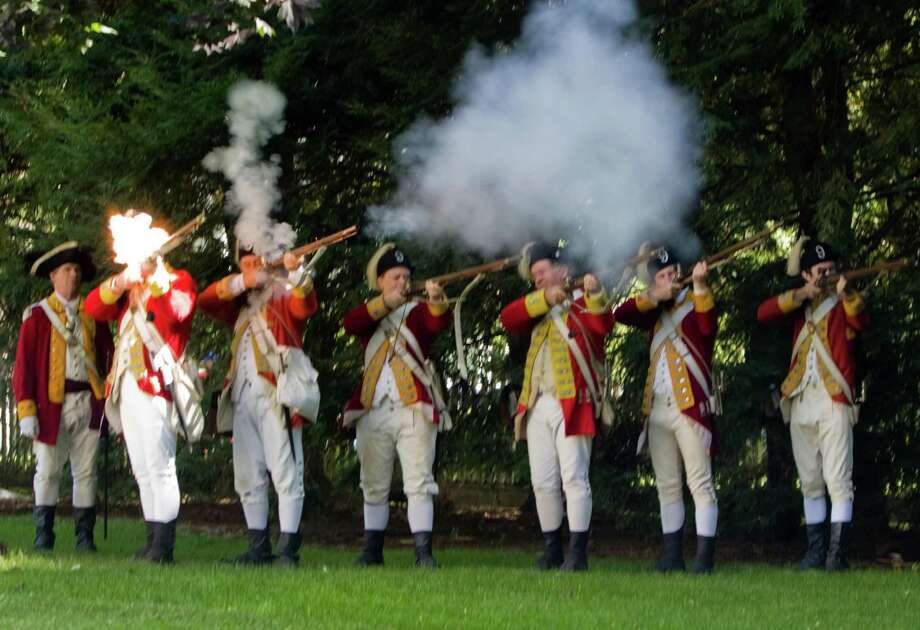 The British are coming to help the town celebrate its 375th anniversary during Family Fun Fest on July 5. Photo: Contributed Photo / Fairfield Citizen