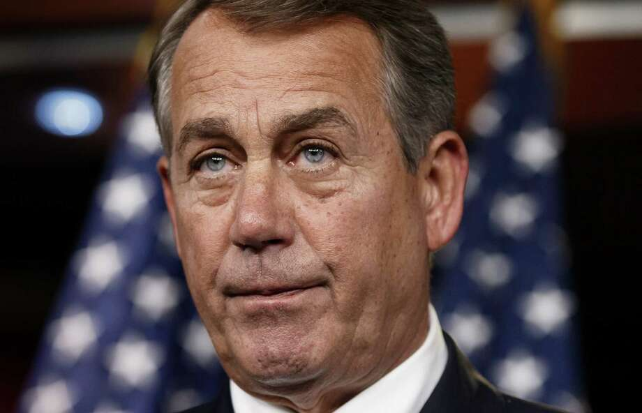 Speaker of the House John Boehner, R-Ohio, is filing suit over the  president's executive orders that circumvent Congress' inaction. Photo: J. Scott Applewhite, Associated Press / AP