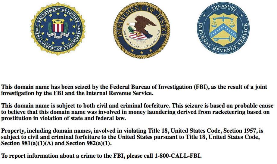 The MyRedbook.com domain has been seized by the government. Photo: MyRedbook.com