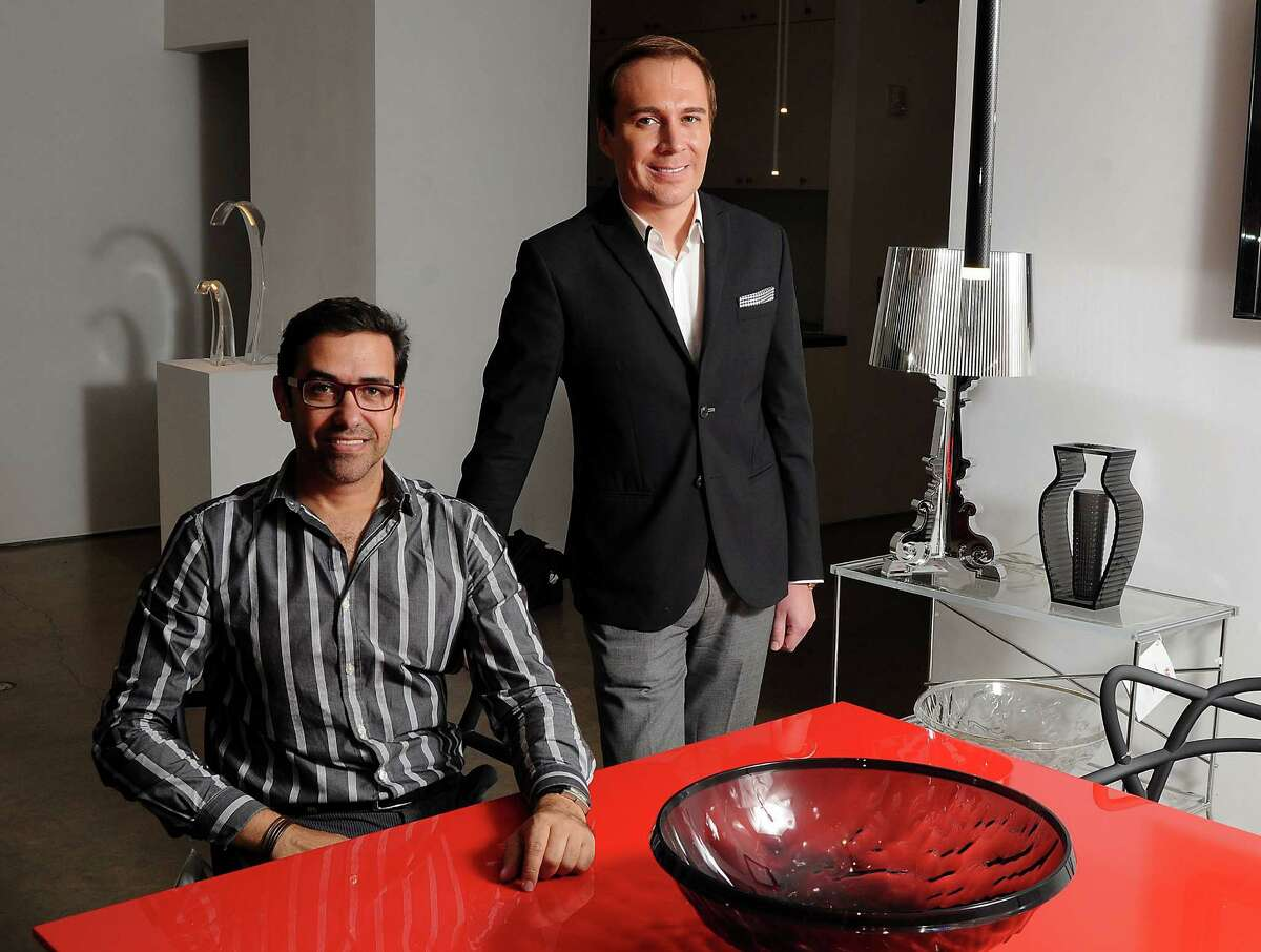 Marcelo Saenz, left, and Adrian Dueñas will open HomeIdentity in Houston this fall.