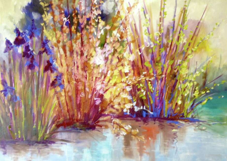 Inspired by the French Impressionists, Lori Eubanks' paintings will be on display at the Sorelle Gallery, 84 Main St., New Canaan, through July 11. Photo: Contributed Photo, Contributed / New Canaan News Contributed